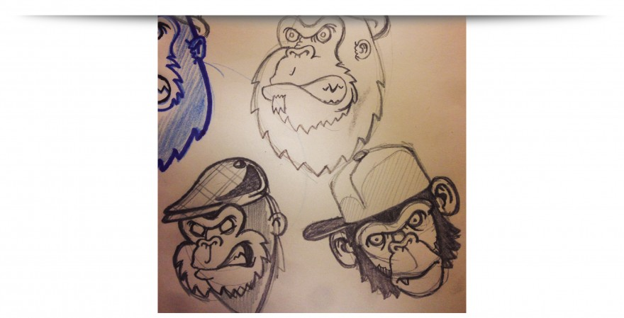 Monkeys sketch-01