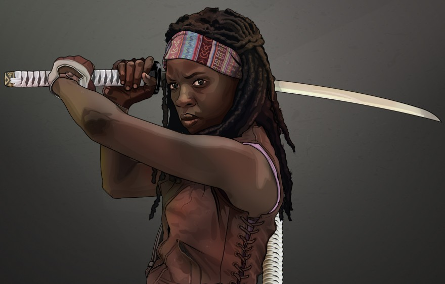 Michonne The Walking Dead