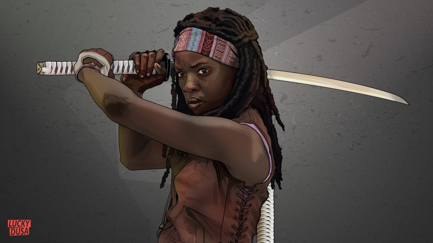 michonne final colour